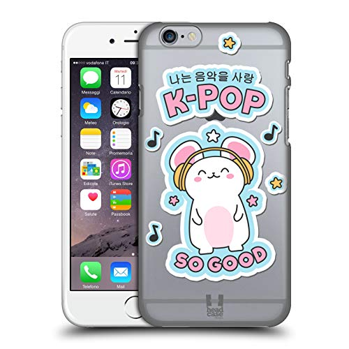 Head Case Designs K-Pop Music Korean Pop Trends Hard Back Case for iPhone 6 / iPhone 6s