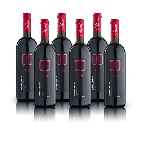 alternativa® - Rosso Dry - 0.0% vol (confezione 6 bottiglie 750ml)