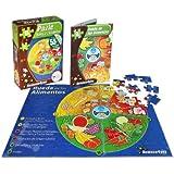 Science4you - Rueda de los alimentos, puzzle, 80 piezas, +6 años (500)