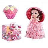 TianranRT Gâteau poupée jouet coupe gâteau poupée maison de jeu enfants jouet gâteau mini surprise poupée cadeau magique jouet