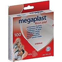 Megaplast Mullkompressen steril–100Stück preisvergleich bei billige-tabletten.eu