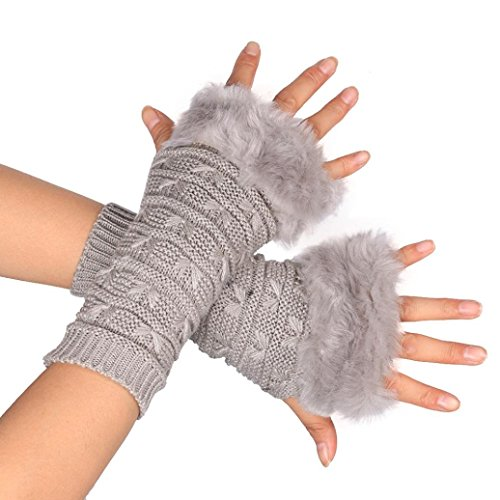 Damen-Handschuh, Sannysis Schmetterling Finger Winter Handschuhe Fäustling