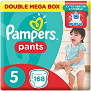 Pampers Pants Diapers, Size 5, Junior, 12-18 kg