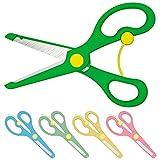 Bastelschere Kinder-Schere mit Sicherung | Grün