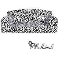 Animal Dalmatian Pet Sofa. 3 sizes Dog bed cover material. Made in UK (Small 82cm x 46cm x 34cm)