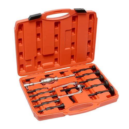 16 Stück Inner Bearing Pullers – Slide Hammer Puller Set und U-Shaped Wheel Bearing Puller Kit Slippery Hammer Entfern-Kit