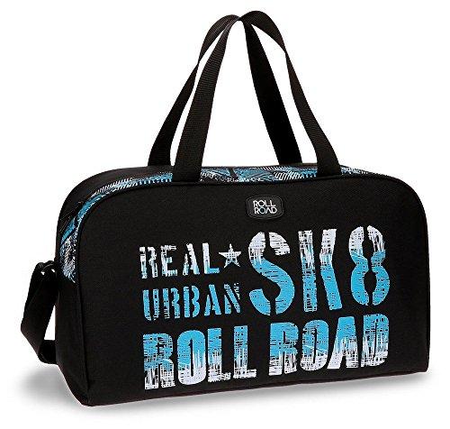 Roll Road Sk8 Bolsa de Viaje, 44 cm, 24.2 Litros, Multicolor