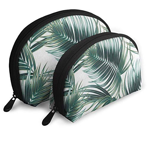 Reisetaschen Tropical Stilvolle Palm Tree Leaves Kulturbeutel Aufbewahrungstasche Für Frauen/Mädchen