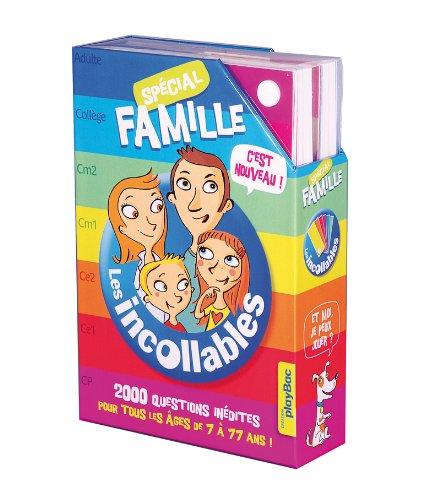 Incollables Spécial Famille : 2000 questions inédites, pour jouer de 7 à 77 ans!