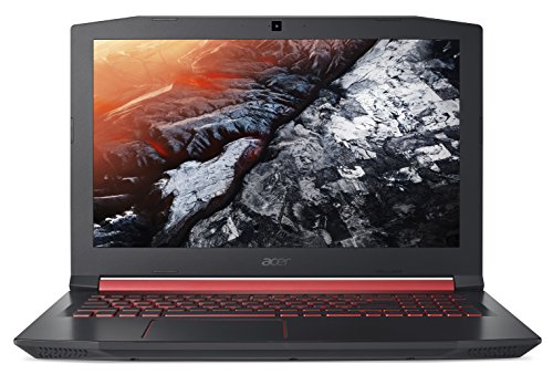 Acer Nitro 5 15.6-Inch Notebook - (Black) (Intel Core i7-7700HQ Processor, 8 GB RAM, 1 TB HDD Plus 128 GB SSD, NVIDIA GeForce GTX 1050 4 GB Graphics, Windows 10)