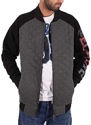 ecko-mens-boys-bomber-style-full-zip-up-quilted-jacket-star-hip-hop-g-college-l-black