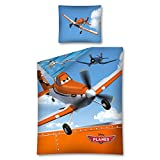 Disney Planes Kinder Bettwäsche 2-teilig, 70 x 80 cm, 140 x 200 cm Baumwolle 100 %