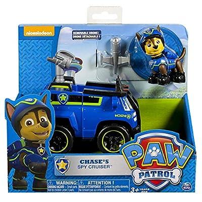 Paw Patrol 6027647 - Basis Fahrzeug Spionagewagen mit Chase