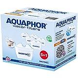 6 Adet Aquaphor Sürahi Kartuş MAXFOR+ Bluefox ve diğer Popüler Arıtmalı Sürahilere uyumludur. Her kartuş 200 litre arıtma kap