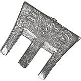 Cuña de martillo 50mm Tamaño 9, 25unidades)
