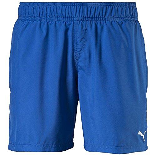 PUMA Badeshorts Active Cat Logo Beach Shorts M - Bóxer de baño para niño, Color Azul, Talla 116 cm...