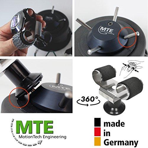 MTE Uhrenbeweger WTS 4 STEEL-EDITION für 4 Uhren - 4