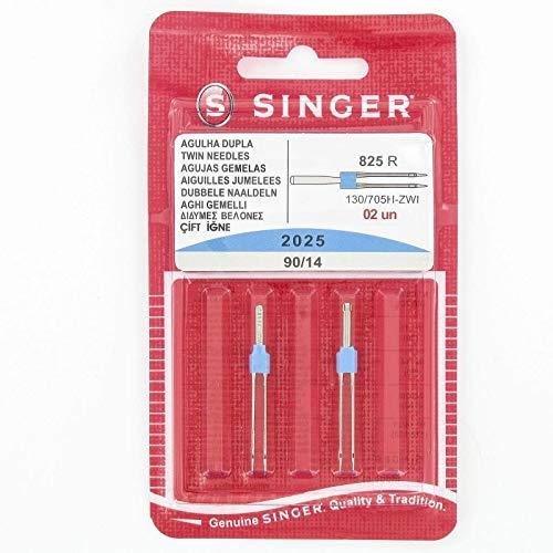 Singer - Agujas Dobles máquina Coser Distancia: