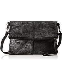 s.Oliver (Bags) 39.711.94.8030 - Pochette da giorno Donna, Schwarz (Black/schwarz), 2x18x25 cm (B x H T)