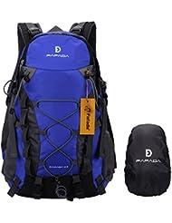 Wanderrucksack Herren Damen Fafada 40L 35L 25L Wasserdicht Rucksack Trekkingrucksack Reiserucksack Klettenrucksack mit Regenschutz