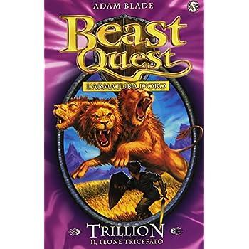 Trillion. Il Leone Tricefalo. Beast Quest