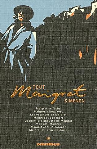 Simenon Maigret - Tout Maigret T4