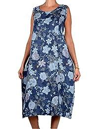 Grisodonna Style - Robe - Ballon - Femme Bleu Bleu 58d5a6da0de