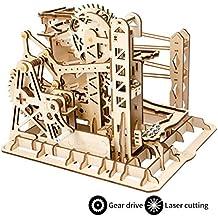ROKR Mechanical Gears DIY Building Kit Modelo mecánico Kit de construcción con Bolas para Adolescentes y