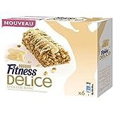 Fitness barres délice chocolat blanc 130g- Livraison Gratuite En France - Prix Par Unité