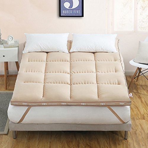 Anti-schleudern matratzenauflage & pad matratzenschoner,Baumwolle Gepolsterte matratze Bett-tatami-matten Einzigen schlafsaal Doppelbett matratze Hypoallergene simmons matratze-B 180x200cm(71x79inch)