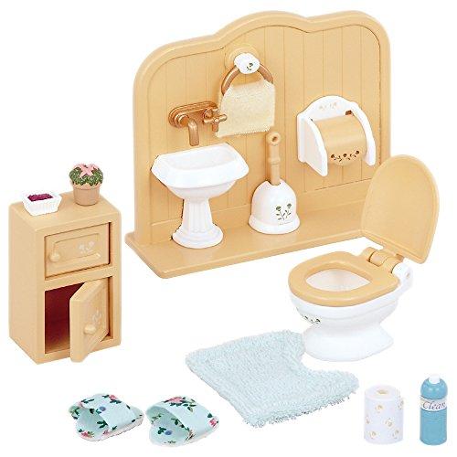 Sylvanian Families Toiletten Set und Accessories