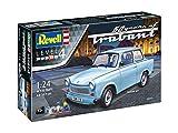Revell 07777 Spielzeug Modellbausatz, Auto 1:24 - Trabant 601S 60 Jahre, Level 4, Orginalgetreue Nachbildung mit Vielen Details