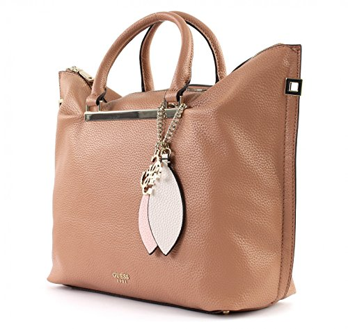 Guess Damen Bags Hobo Shopper, 12.5x33x41 centimeters Braun (Tan)
