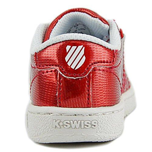 K-Swiss Classic VN Shine On Lackleder Turnschuhe Red/White