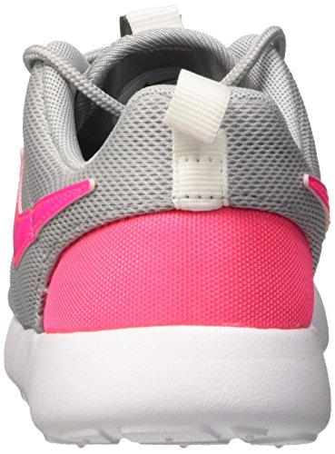 Nike Roshe One (PS), Chaussures de Sport Fille, Blanc, 27.5 EU Multicolore (Wolf Grey/Hypr Pink-Cl Gry-Wht)