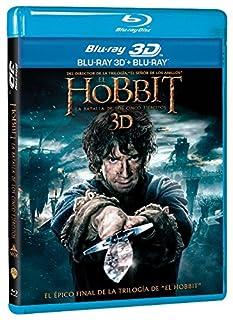 El Hobbit: La Batalla De Los Cinco Ejércitos (BD + BD 3D) [Blu-ray] (B00QGJ07XE) | Amazon price tracker / tracking, Amazon price history charts, Amazon price watches, Amazon price drop alerts
