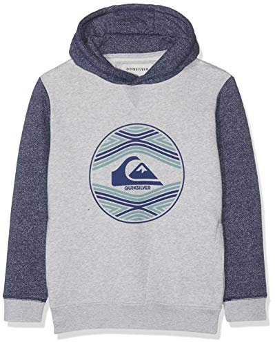 Quiksilver Jungen Project Planet Fleece Top, Medieval Blue, L/14 - Quiksilver-jungen Kleidung