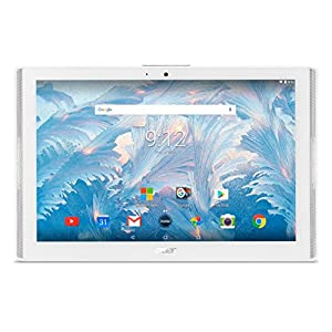 Acer Iconia One 10 B3-A40 Tablet (MediaTek 8167 Cortex A35 1.3GHz Processor, 2 GB RAM, 16GB eMMC, 10.1 inch Display, Android 7.0, White)