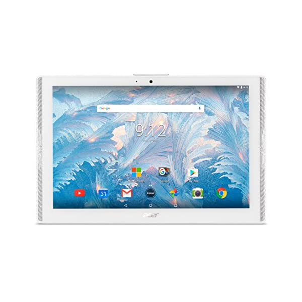 Acer 7-Inch IPS Tablet-PC – (White) (MediaTek MT8167A, 1 GB RAM, 16 GB eMMC, Android 7.0) 51jnTu53b8L