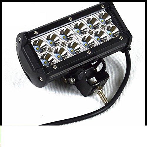 Barra luminosa a LED KDGWD 36w doppio