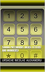 50000 passwords ideas( letters and numbers) (English Edition)