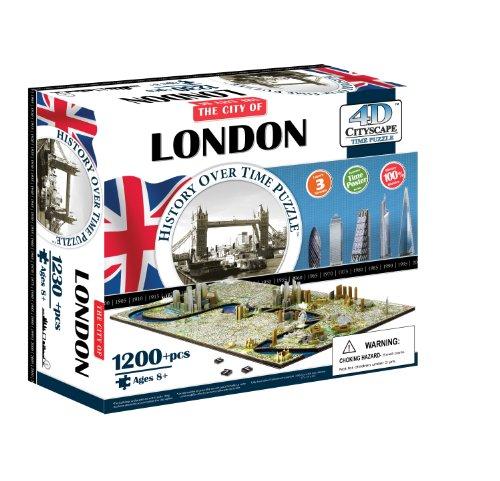 4D Cityscape 40012 - London Puzzle