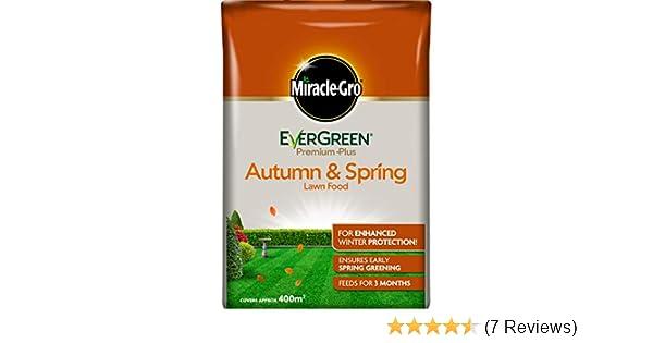 Miracle-Gro EverGreen Premium Plus Autumn & Spring Lawn Food 8kg - 400m2