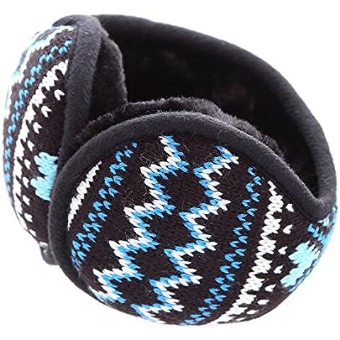 Dopo la piegatura a caldo eleganti cuffie ear coprire,cuore blu la piegatura - Cuore Coperto