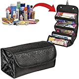 NIHAAS Multi Functional Travel Organizer Accessory Toiletry Cosmetics Bag Makeup Shaving Kit Pouch For Men & Women...