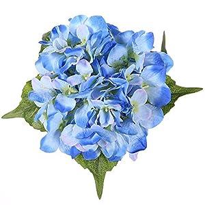 JUSTOYOU Ramo de Flores de Seda Artificial Essentials, para decoración del hogar, Boda, jardín, Flores