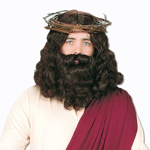 Jesus Perücke mit Bart (Jesus Bart Perücke Mit)