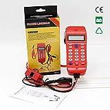 NF 866 Phone Line Kabel Tester mit Bildschirm Tele Glasfaser Optisches Werkzeug Überprüfen DTMF Anrufer ID Auto Detection Suche Maschine