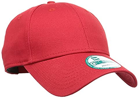 New Era 11179830 - Casquette de Baseball - Homme - Rouge (Red) - Taille unique (Taille fabricant: Taille unique)