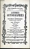 CATALOGUES DE VENTES AUX ENCHERES - BULLETIN D'AUTOGRAPHES A PRIX MARQUES - N°793 - OCTOBRE 1988 - LETTRES AUTOGRAPHES ET DOCUMENTS HISTORIQUES.